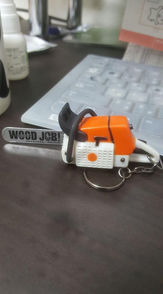 wood job! スチールチェンソー 新しい仲間ですw